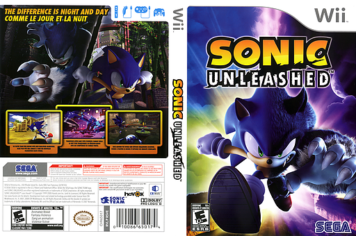 Sonic Unleashed Wii cover (RSVE8P)