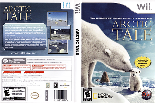 Arctic Tale Wii cover (RT2E20)