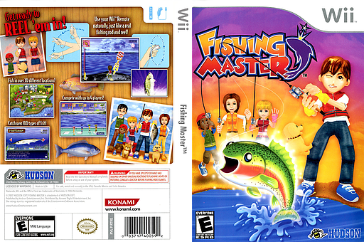 Fishing Master Wii cover (RTRE18)