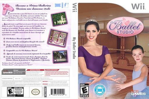 My Ballet Studio Wii cover (RU9EGT)
