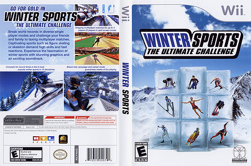 Winter Sports: The Ultimate Challenge Wii cover (RUCE5Z)