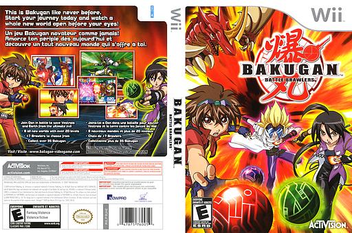 Bakugan Battle Brawlers Wii cover (RUHE52)