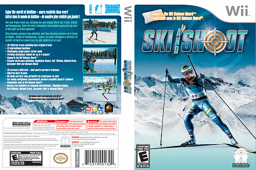 Ski and Shoot Wii cover (RUME5Z)