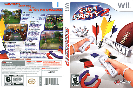 Game Party 2 Wii cover (RV2E5D)