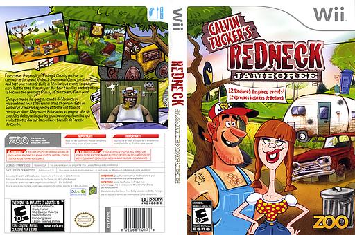 Calvin Tucker's Redneck Jamboree Wii cover (RVNE20)