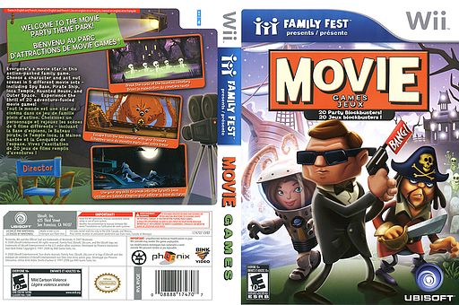 Movie Games Wii cover (RVQE41)