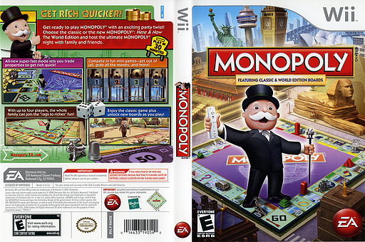 Monopoly Wii cover (RWOE69)
