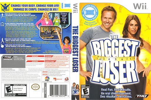 The Biggest Loser Wii cover (RX6E78)