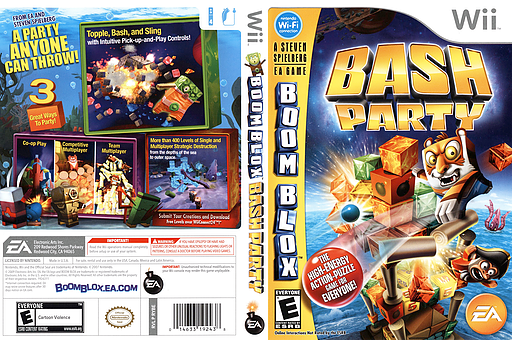 Boom Blox: Bash Party Wii cover (RYBE69)