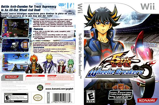 Yu-Gi-Oh! 5D's: Wheelie Breakers Wii cover (RYOEA4)