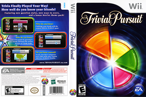 Trivial Pursuit Wii cover (RYQE69)