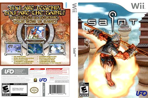 Saint Wii cover (RZCE6K)