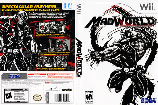 MadWorld Wii cover (RZZE8P)