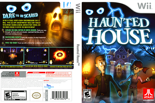 Haunted House Wii cover (S2HE70)
