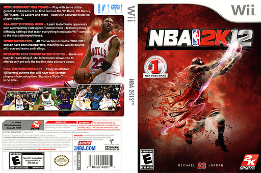 NBA 2K12 Wii cover (S2QE54)
