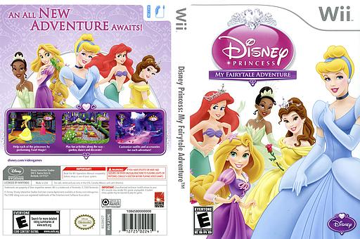 Disney Princess: My Fairytale Adventure Wii cover (S3PE4Q)