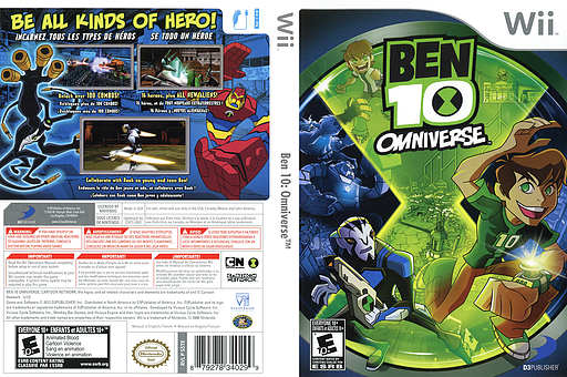 Ben 10: Omniverse Wii cover (S5TEG9)