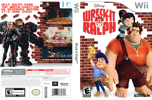 Wreck-It Ralph Wii cover (S6RE52)