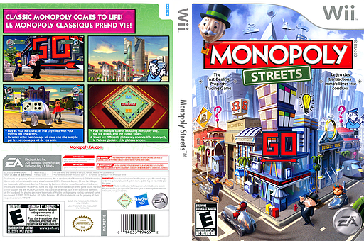 Monopoly Streets Wii cover (S75E69)