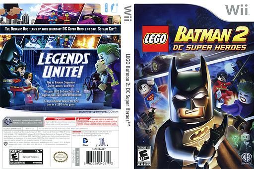 LEGO Batman 2: DC Super Heroes Wii cover (S7AEWR)