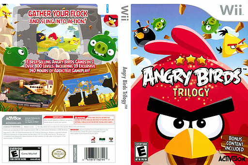 Angry Birds Trilogy Wii cover (SAWE52)