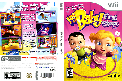 My Baby First Steps Wii cover (SB2ES5)