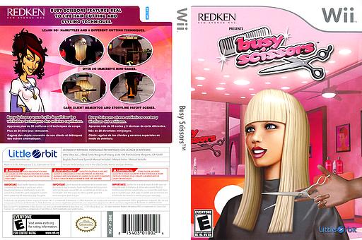 Busy Scissors Wii cover (SBIEVZ)