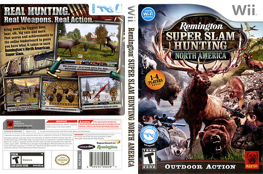 Remington Super Slam Hunting: North America Wii cover (SBSEFP)
