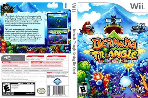 Bermuda Triangle: Saving the Coral Wii cover (SBZESZ)