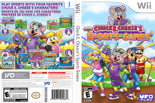 Chuck E. Cheese's Sports Games Wii cover (SCKE6K)