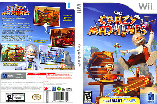 Crazy Machines Wii cover (SCZEMH)