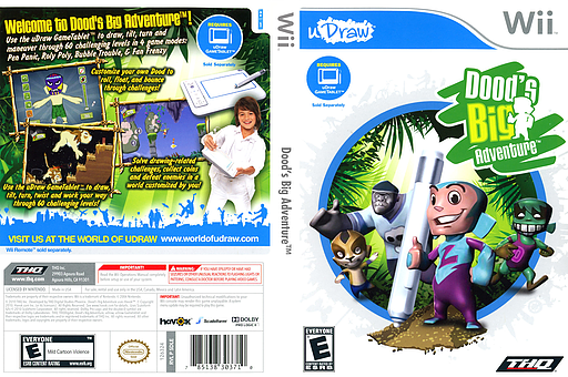 Dood's Big Adventure Wii cover (SDLE78)