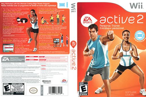 EA Sports Active 2 Wii cover (SE2E69)