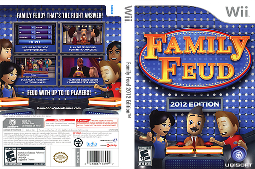 Family Feud 2012 Edition Wii cover (SF7E41)