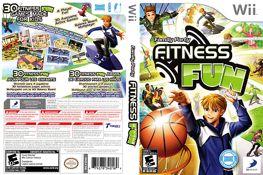 Family Party: Fitness Fun Wii cover (SFKEG9)