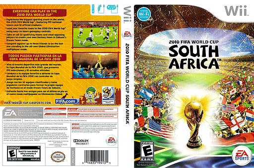2010 FIFA World Cup South Africa Wii cover (SFWE69)