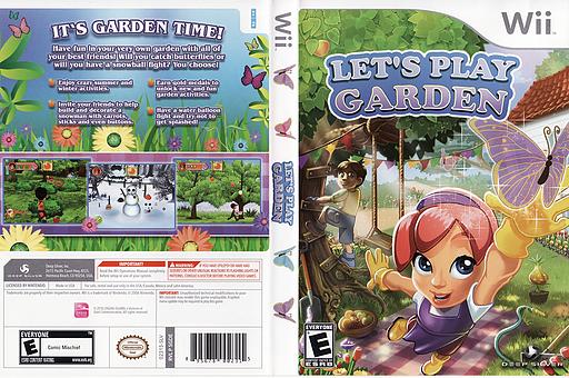 Let's Play Garden Wii cover (SGDEJJ)
