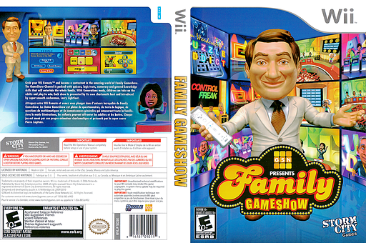Family Gameshow Wii cover (SGSESZ)
