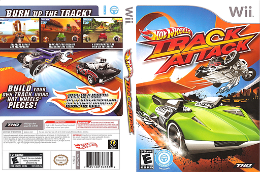 Hot Wheels: Track Attack Wii cover (SHVE78)