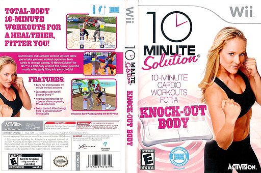 10 Minute Solution Wii cover (SM2E52)