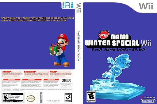 Devil Mario Winter Special CUSTOM cover (SMNE41)