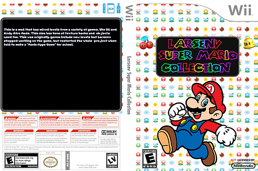 Larsenv Super Mario Collection CUSTOM cover (SMNE67)
