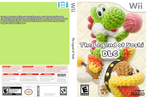 The Legend of Yoshi DLC CUSTOM cover (SMNE68)