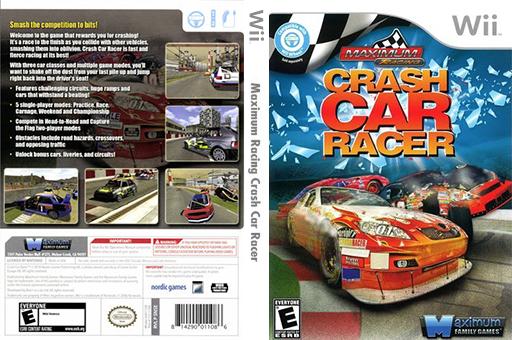 Maximum Racing: Crash Car Racer Wii cover (SN5EYG)