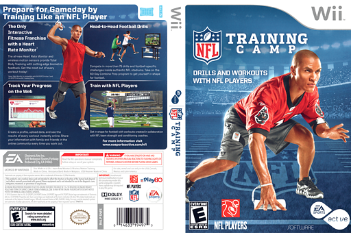 EA Sports Active NFL Training Camp Wii cover (SNFE69)