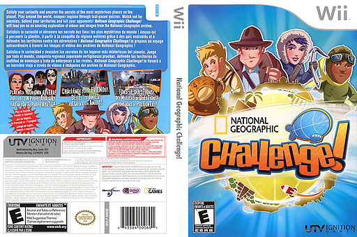 National Geographic Challenge! Wii cover (SNQE7U)