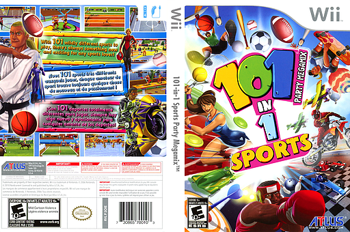 101-in-1 Sports Party Megamix Wii cover (SOIEEB)