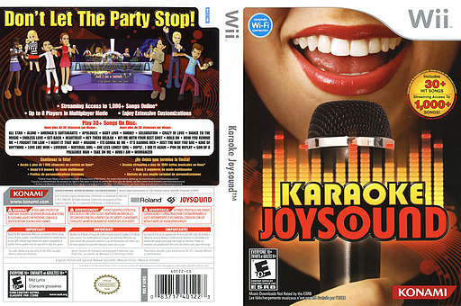 Karaoke Joysound Wii cover (SOKEA4)