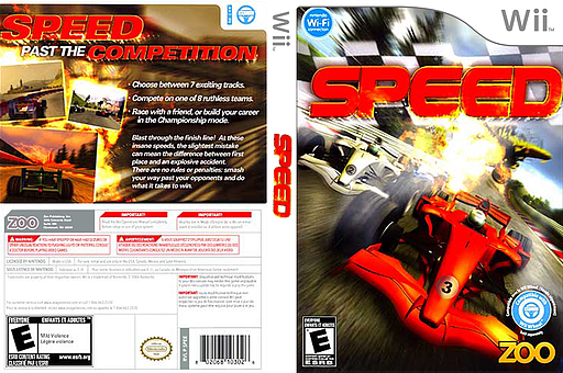 Speed Wii cover (SPEE20)