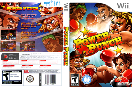 Power Punch Wii cover (SPPEFS)